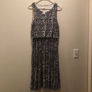 Spotted LOFT dress